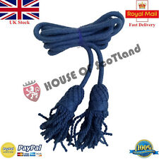 Army Bugle Wool Cord Air Force Blue/Air Force Buckle Cords/British Army Bugles