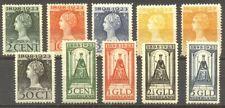 NETHERLANDS #124-34 Mint NHx - 1923 Wilhelmina Set
