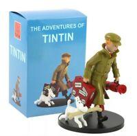 Figurine Tintin Collection PVC BD Dessin Animé Aventure jouet collector toy Box
