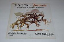 Beethoven~Joyously~3 Duets for Clarinet & Bassoon~Avant Recordings AV-1011