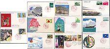 JAPAN 1965-70 PARKS MARINE ITU ILLUST.FDCs...11 COVERS