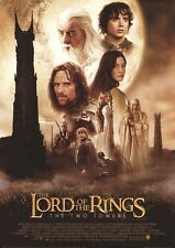 Lord Of The Rings Movie Poster ~ Two Towers Regular 25x36 Peter Jackson Hobbit