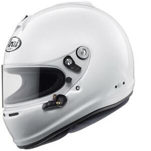 ARAI GP-6S (With M6 Studs) FIA 8859-2015 & SNELL SA2015 Car Racing Helmet