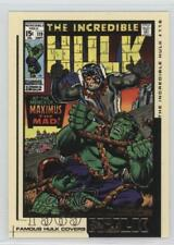 2003 Famous Covers #FC13 The Incredible Hulk #119 Non-Sports Card 1md