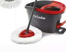 O-Cedar Easywring Microfiber Spin Mop & Bucket Floor Cleaning System