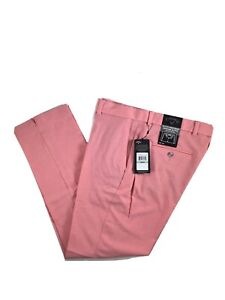 Mens Callaway PGA Tour Issue Stretch Lightweight Classic Pants Coral 34 x 32