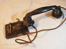 Ancien téléphone bakelite de marque CBD en l'état Incomplet années 50 60