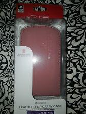 Officiel sony PSP en cuir Étui-Rose