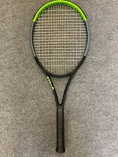 New listing Wilson Blade 100L v7 STRUNG 4 1/8 (Tennis Racket 10.1oz 285g 16x19 version 7 )