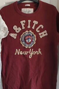 Abercrombie & Fitch T-Shirt Size S Muscle White