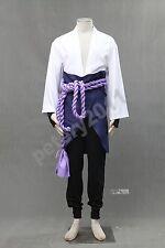 Naruto Kids Sasuke Uchiha 3rd Children Cosplay Costume Halloween Clothes Anime