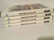 Lot of 4 Na Scar Nextel Cup Series 2004 -2007 Hardcover Books Umi Publication