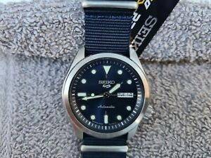Seiko 5 Sports SRPE63, Automatic, Made in Japan Model, Blue, Brand New👌