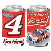 Kevin Harvick #4 Budweiser Can Cooler 12 oz koozie NASCAR 2014 Stewart-Haas