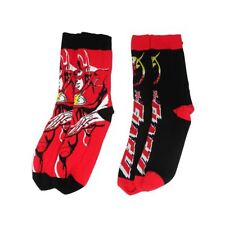 Official DC Comics Justice League The Flash Dash Assorted Socks (2 Pairs)