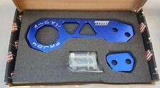 Spotted BLUE Universal JDM Rear Password Tow Hook Honda Mazda Mitsubishi Subaru