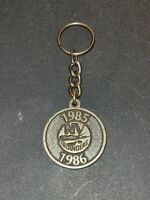 1985-1986 New York Islander Key Chain Pride & Tradition 2-Sided Vintage