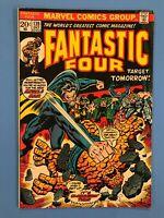 FANTASTIC FOUR #139 Target Tomorrow! with Miracle Man/Medusa/Wyatt Wingfoot 1973