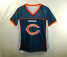 Chicago Bears NFL Flag Football Reversible Jersey Boys Size YOUTH LARGE L