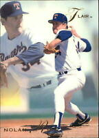 1993 Flair Baseball Card #286 Nolan Ryan Hall of Famer Texas Rangers