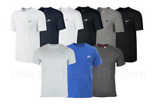 Mens Nike Cotton Crew T Shirts Sportswear/Gym/Casual Various Colours Size S-XXL