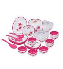 DINNER SET 44 PCS NAYASA MICROWAVE SAFE BEST QUALITY