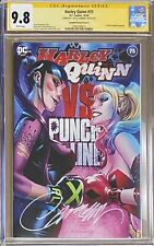 """Harley Quinn #75 J. Scott Campbell Exclusive A - """"Boxing"""" CGC 9.8 SS"""
