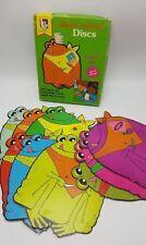 Short Vowel Discs Frogs Learning Elementary Game 1977 Trend Enterprises Phonics