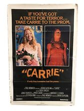 Vintage 1970s Carrie Lobby Card Movie Poster