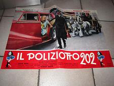 POLIZIOTTO 202, AUTO CAR FOTOBUSTA diana dors
