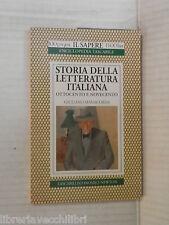 STORIA DELLA LETTERATURA ITALIANA Ottocento e Novecento Giuliano Manacorda 1995