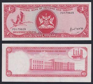 Trinidad and Tobago 1 dollar 1977 (Sign. 4) FDS-/UNC-  C-08