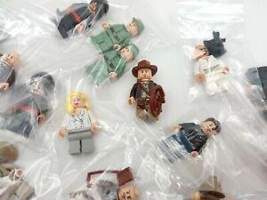 LEGO Indiana Jones Minifigures - Select Your Character