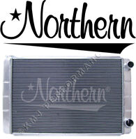 Northern 209624 Aluminum Radiator Chevy GM Fit 28 x 19 Double Pass 2-Row Racing