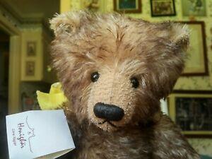 Ltd. Ed. mohair Artist Teddy bear by Citra Nagler of Honigbär Germany 14in EUC