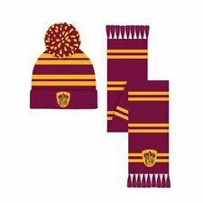 Harry Potter Gryffindor Crest Bobble Hat and Scarf