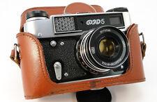 Virtually NEW! FED-5 Russian Rangefinder 35mm Camera INDUSTAR-61 L/D 2.8/50 Lens