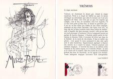 Document philatélique 34-77 1er jour 1977 Trémois Peintre