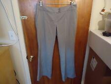 "Womens New York & Co. Stretch Size 12 Avg.Gray Dress Pants "" BEAUTIFUL PAIR """