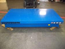 "NEW Southworth Hydraulic Platform Lift Table 2,000 lb 114"" High Rise LSH2-114"