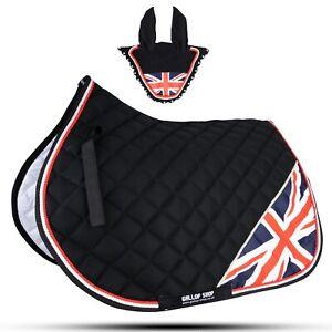 Union Jack Horse Saddle Pad / National Flag Saddle Pad Set / Numnah Cloth