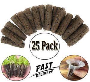 AeroGarden Best Sponge Seed Pod Kit Starter System Grow Anything Refill 25PACKUS