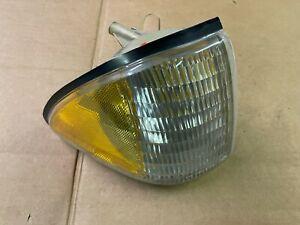 87-93 Ford Mustang Amber Corner Light Factory Headlights Passenger Side OEM