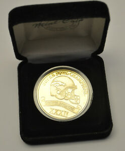 Highland Mint Sports Collection Denver Broncos Super Bowl XXXII Champions Coin