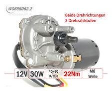 WG65BD62-2 Getriebemotor Ø62mm 12V 30W 65U/min 22Nm Torantrieb Fenster Grill