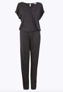 EX-M&S ex-MarksandSpencer SUPER SOFT pyjama loungewear jumpsuit playsuit size 14