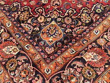 10x13 PERSIAN RUG IRAN HAND KNOTTED AREA RUGS WOVEN MADE WOOL 10 x 13 antique 12
