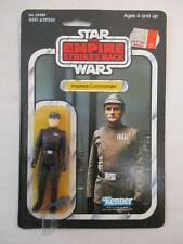 Vintage Star Wars IMPERIAL COMMANDER Figure MOC Kenner 1980 41 Back ESB Card