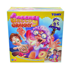 Tomy Greedy Granny! Game 2-4 players Age 5+