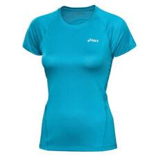 Hauts et maillots de fitness bleus ASICS pour femme